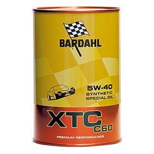 Изображение Моторное масло Bardahl XTC C60 5W40 1 л.