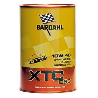 Изображение Моторное масло Bardahl XTC C60 10W40 1 л.