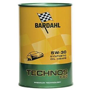 Изображение Моторное масло Bardahl Technos C60 5W30 mSAPS 1 л.