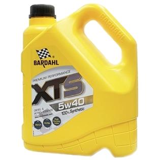 Изображение Моторное масло Bardahl XTS 5W40 4 л.