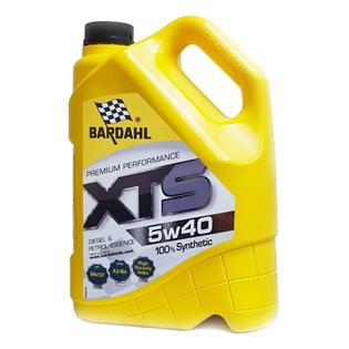 Изображение Моторное масло Bardahl XTS 5W40 5 л.